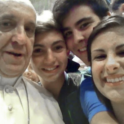 The Selfie Pope